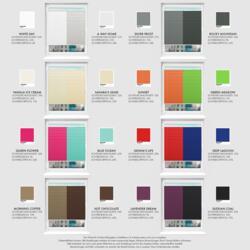 Schuette® Plissee mit Bohren nach Maß • Premium Kollektion: White Day (Weiß) • Profilfarbe: Weiß